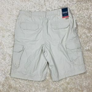 144c771888 Izod Shorts - Izod Mens NWT Size 34 Beige Stone Cargo Shorts